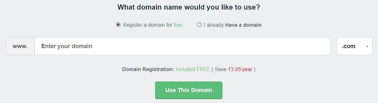 register domain name in fastcomet