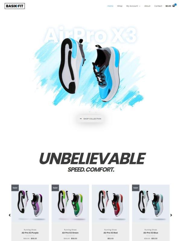 shoe-store theme
