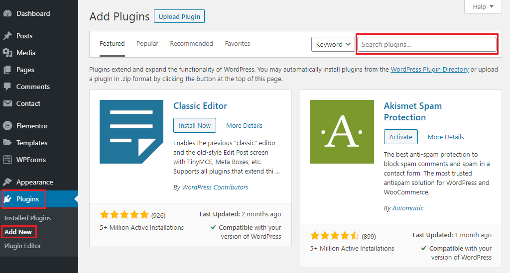 how to install plugin